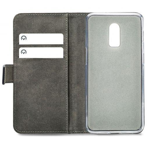 Productafbeelding van de Mobilize Classic Gelly Wallet Book Case Black OnePlus 6T