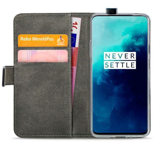 Productafbeelding van de Mobilize Classic Gelly Wallet Book Case Black OnePlus 7T Pro