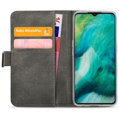 Productafbeelding van de Mobilize Classic Gelly Wallet Book Case Black Oppo Find X2 Lite