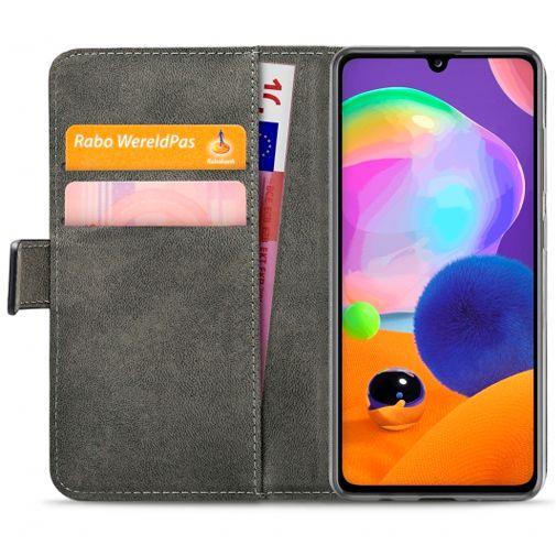 Productafbeelding van de Mobilize Classic Gelly Wallet Book Case Black Samsung Galaxy A31