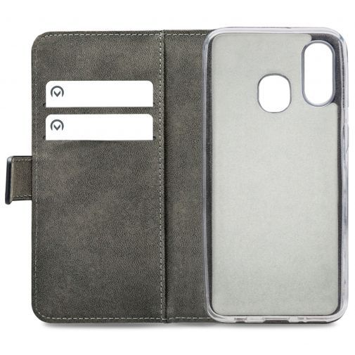 Productafbeelding van de Mobilize Classic Gelly Wallet Book Case Black Samsung Galaxy A40