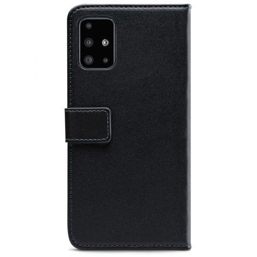 Produktimage des Mobilize Classic Gelly Wallet Book Case Schwarz Samsung Galaxy A51 4G