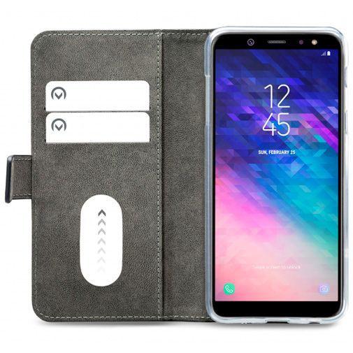 Productafbeelding van de Mobilize Classic Gelly Wallet Book Case Black Samsung Galaxy A6+
