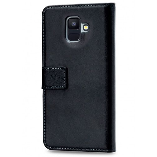 Productafbeelding van de Mobilize Classic Gelly Wallet Book Case Black Samsung Galaxy A6