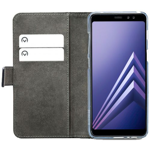 Productafbeelding van de Mobilize Classic Gelly Wallet Book Case Black Samsung Galaxy A8 (2018)