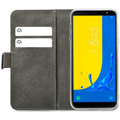 Produktimage des Mobilize Classic Gelly Wallet Book Case Schwarz Samsung Galaxy J6
