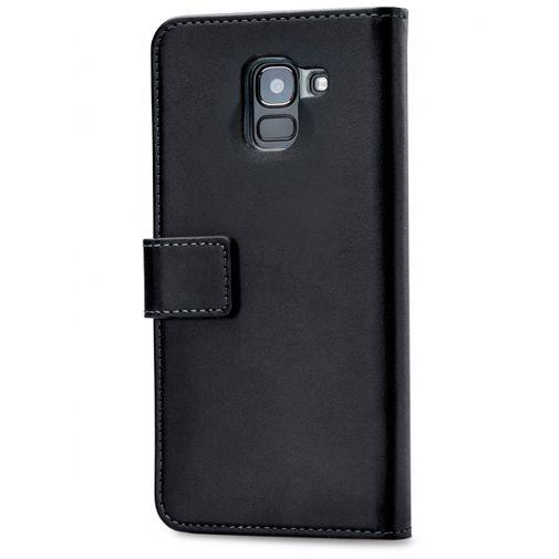 Productafbeelding van de Mobilize Classic Gelly Wallet Book Case Black Samsung Galaxy J6