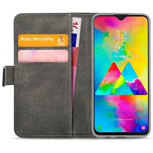 Productafbeelding van de Mobilize Classic Gelly Wallet Book Case Black Samsung Galaxy M20 Power