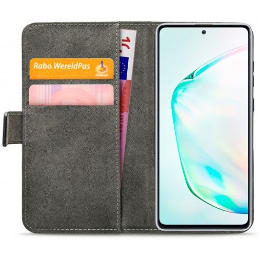 Productafbeelding van de Mobilize Classic Gelly Wallet Book Case Black Samsung Galaxy Note 10 Lite
