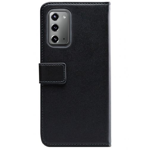 Productafbeelding van de Mobilize Classic Gelly Wallet Book Case Black Samsung Galaxy Note 20