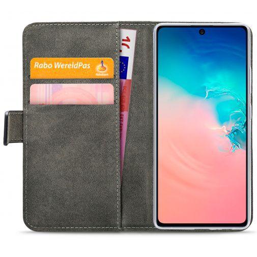Productafbeelding van de Mobilize Classic Gelly Wallet Book Case Black Samsung Galaxy S10 Lite