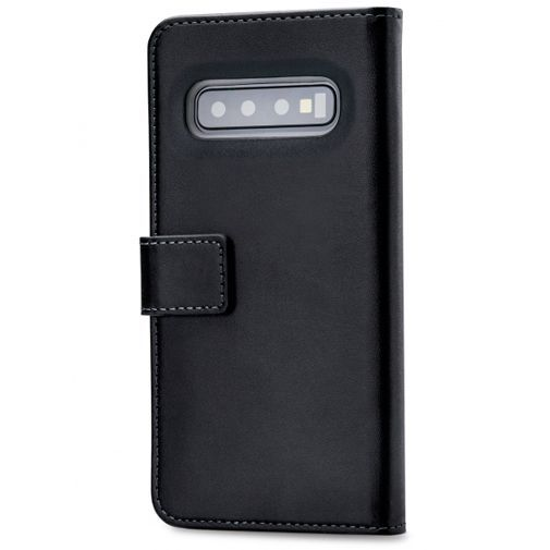 Productafbeelding van de Mobilize Classic Gelly Wallet Book Case Black Samsung Galaxy S10+