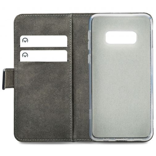 Produktimage des Mobilize Classic Gelly Wallet Book Case Schwarz Samsung Galaxy S10e