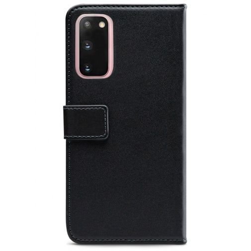 Productafbeelding van de Mobilize Classic Gelly Wallet Book Case Black Samsung Galaxy S20