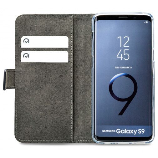 Productafbeelding van de Mobilize Classic Gelly Wallet Book Case Black Samsung Galaxy S9
