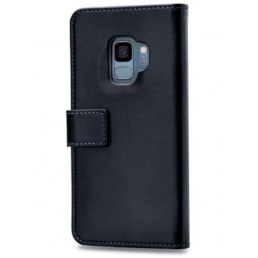 Produktimage des Mobilize Classic Gelly Wallet Book Case Schwarz Samsung Galaxy S9