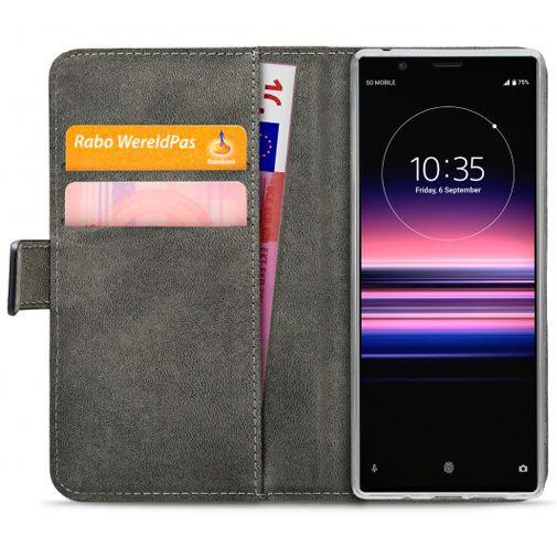 Produktimage des Mobilize Classic Gelly Wallet Book Case Schwarz Sony Xperia 5