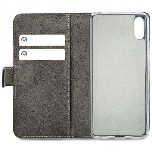 Productafbeelding van de Mobilize Classic Gelly Wallet Book Case Black Sony Xperia L3