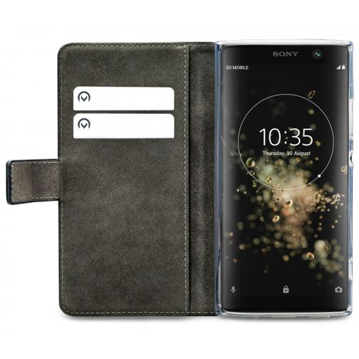 Produktimage des Mobilize Classic Gelly Wallet Book Case Schwarz Sony Xperia XA2 Plus