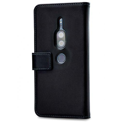 Produktimage des Mobilize Classic Gelly Wallet Book Case Schwarz Sony Xperia XZ2 Premium