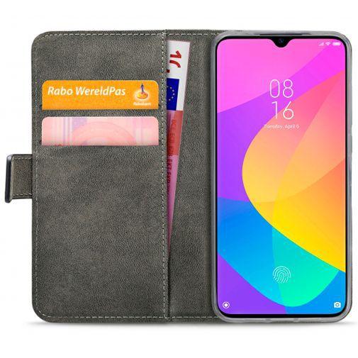 Produktimage des Mobilize Classic Gelly Wallet Book Case Schwarz Xiaomi Mi 9 Lite