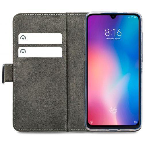 Productafbeelding van de Mobilize Classic Gelly Wallet Book Case Black Xiaomi Mi 9