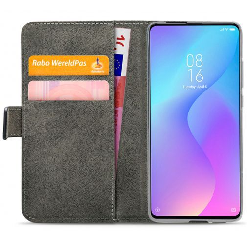 Productafbeelding van de Mobilize Classic Gelly Wallet Book Case Black Xiaomi Mi 9T/9T Pro