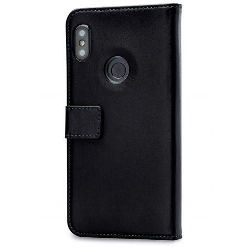 Productafbeelding van de Mobilize Classic Gelly Wallet Book Case Black Xiaomi Mi A2