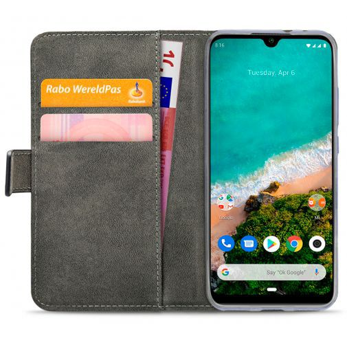 Produktimage des Mobilize Classic Gelly Wallet Book Case Schwarz Xiaomi Mi A3