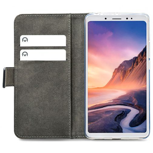 Productafbeelding van de Mobilize Classic Gelly Wallet Book Case Black Xiaomi Mi Max 3