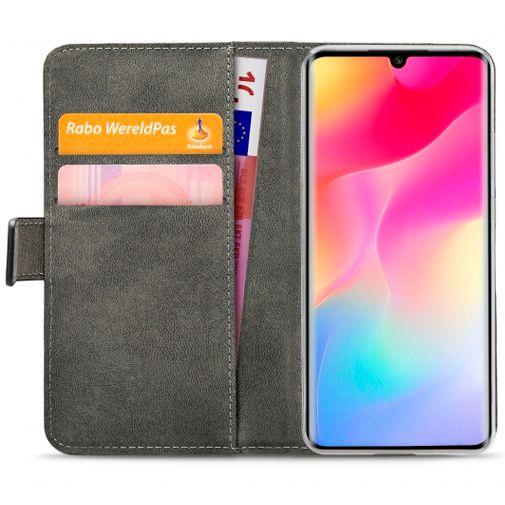 Productafbeelding van de Mobilize Classic Gelly Wallet Book Case Black Xiaomi Mi Note 10 Lite
