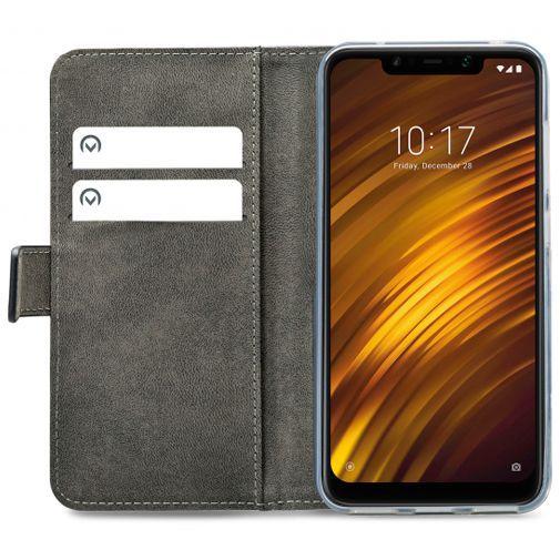 Productafbeelding van de Mobilize Classic Gelly Wallet Book Case Black Xiaomi Pocophone F1