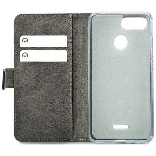 Productafbeelding van de Mobilize Classic Gelly Wallet Book Case Black Xiaomi Redmi 6