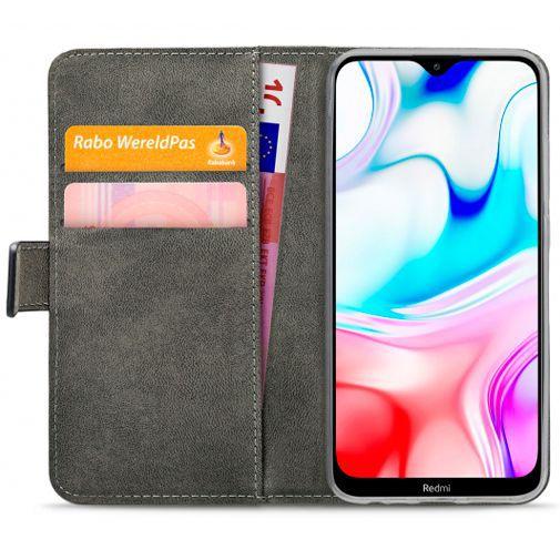 Produktimage des Mobilize Classic Gelly Wallet Book Case Schwarz Xiaomi Redmi 8