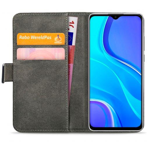 Productafbeelding van de Mobilize Classic Gelly Wallet Book Case Black Xiaomi Redmi 9