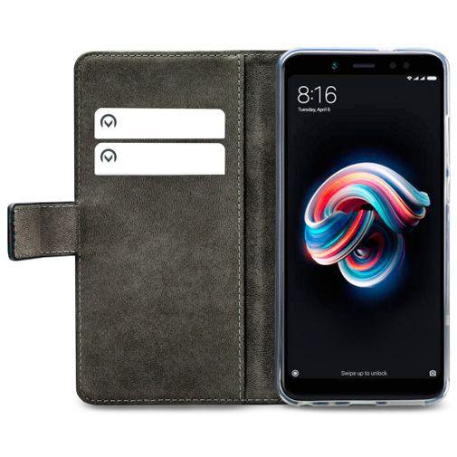 Productafbeelding van de Mobilize Classic Gelly Wallet Book Case Black Xiaomi Redmi Note 5