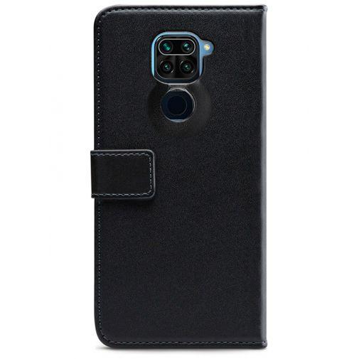 Productafbeelding van de Mobilize Classic Gelly Wallet Book Case Black Xiaomi Redmi Note 9