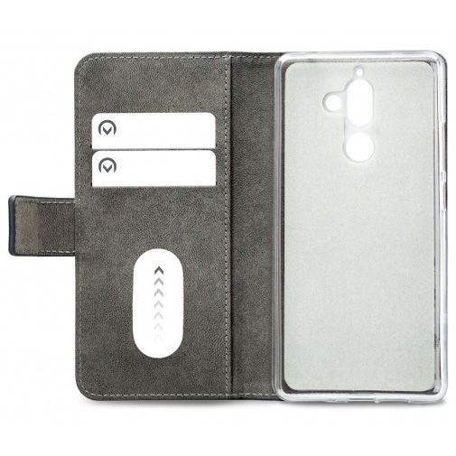 Productafbeelding van de Mobilize Classic Gelly Wallet Book Case Black Nokia 7 Plus