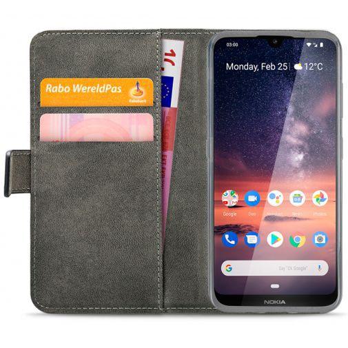 Productafbeelding van de Mobilize Classic Gelly Wallet Book Case Black Nokia 3.2