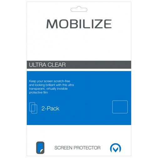 Productafbeelding van de Mobilize Clear Screenprotector Samsung Galaxy Tab S4 10.5 2-Pack