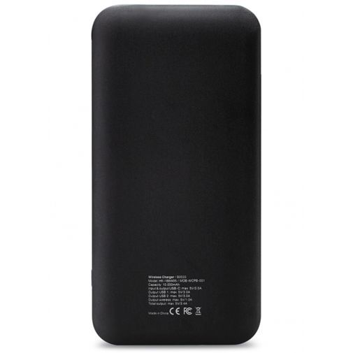Mobilize Draadloze Powerbank 10.000 mAh Black