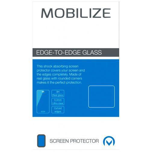 Produktimage des Mobilize Edge-To-Edge Glas Displayschutzfolie Samsung Galaxy S9+ Schwarz