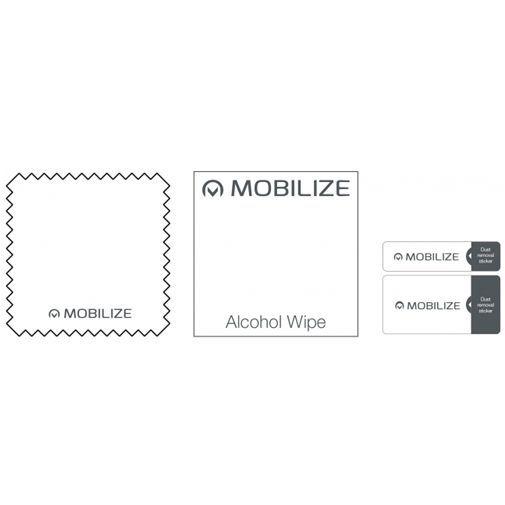 Productafbeelding van de Mobilize Edge-To-Edge Glass Screenprotector Black OnePlus 8 Pro