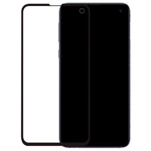 Productafbeelding van de Mobilize Edge-To-Edge Glass Screenprotector Black Samsung Galaxy S10e
