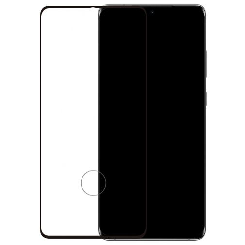 Productafbeelding van de Mobilize Edge-To-Edge Glass Screenprotector Black Samsung Galaxy S20/S20 5G