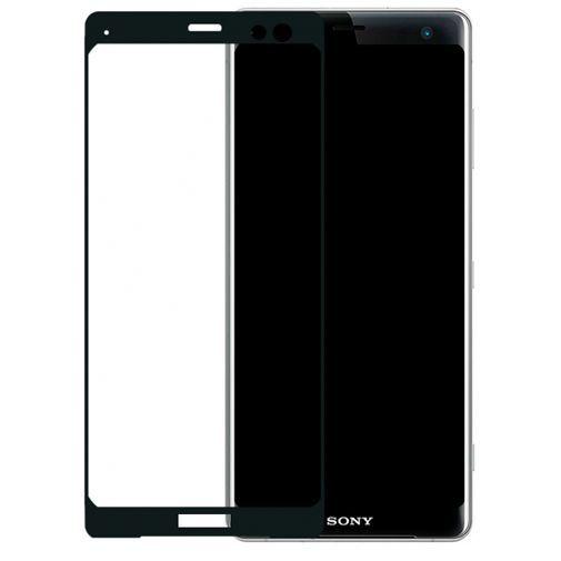Productafbeelding van de Mobilize Edge-To-Edge Glass Screenprotector Sony Xperia XZ3 Black