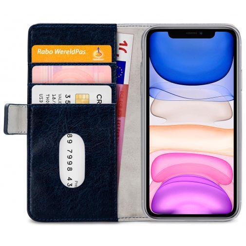 Productafbeelding van de Mobilize Elite Gelly Wallet Book Case Blue Apple iPhone 11