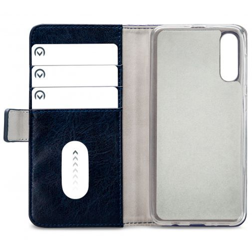 Productafbeelding van de Mobilize Elite Gelly Wallet Book Case Blue Samsung Galaxy A30s/A50