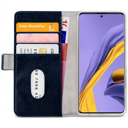 Productafbeelding van de Mobilize Elite Gelly Wallet Book Case Blue Samsung Galaxy A51