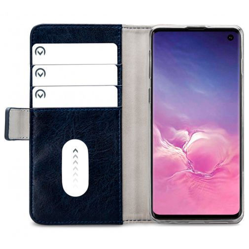 Productafbeelding van de Mobilize Elite Gelly Wallet Book Case Blue Samsung Galaxy S10